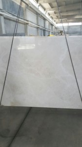 White Beige slab polished finish (2)