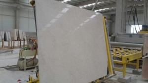 White Beige slab polished finish (5)