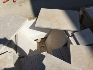Cross cut light mix travertine tumbled (5)