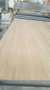 Vein cut light travertine slab raw (6)