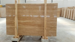 Vein cut classic travertine polished filled finish (2)