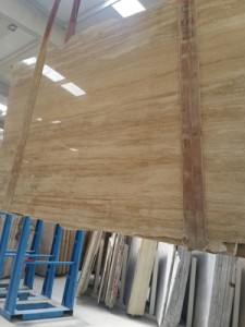 Vein cut classic travertine polished filled finish (3)